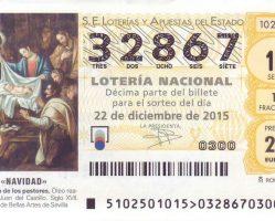 ElCristo – Loteria – Navidad 2015 – Décimo