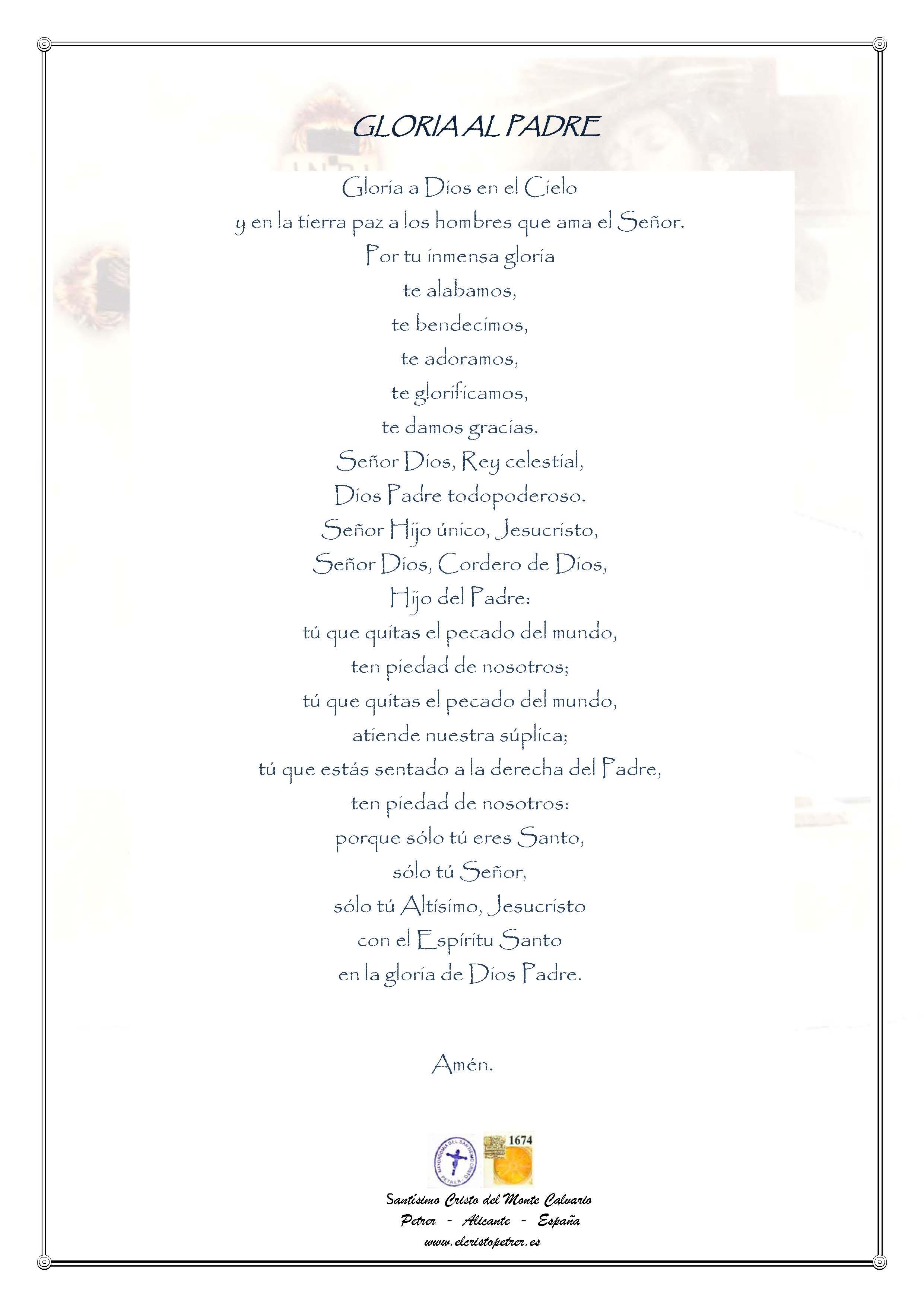 Oraciones - Santísimo Cristo del Monte Calvario