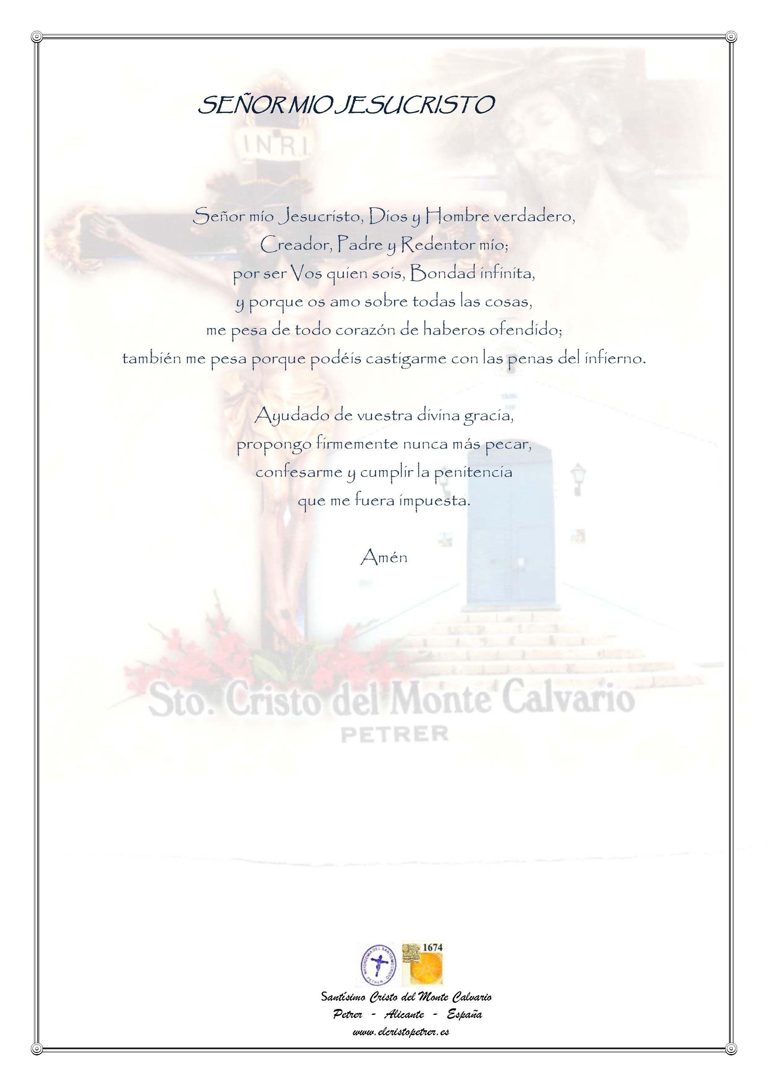 ElCristo - Oraciones - Iglesia - Iglesia - Señor Mio Jesucristo