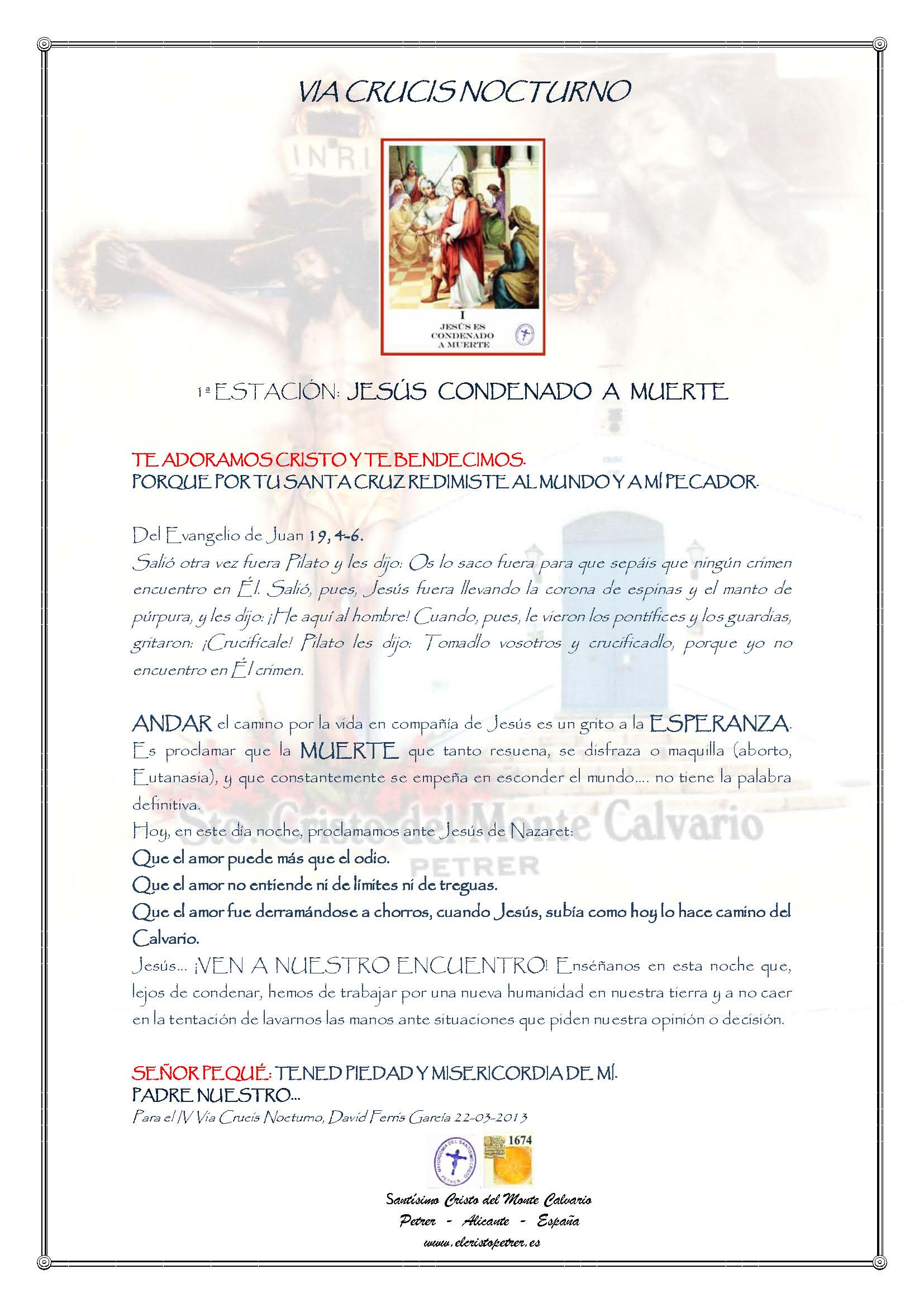 ElCristo - Oraciones - Iglesia - Iglesia - VIA CRUCIS NOCTURNO_Página_01