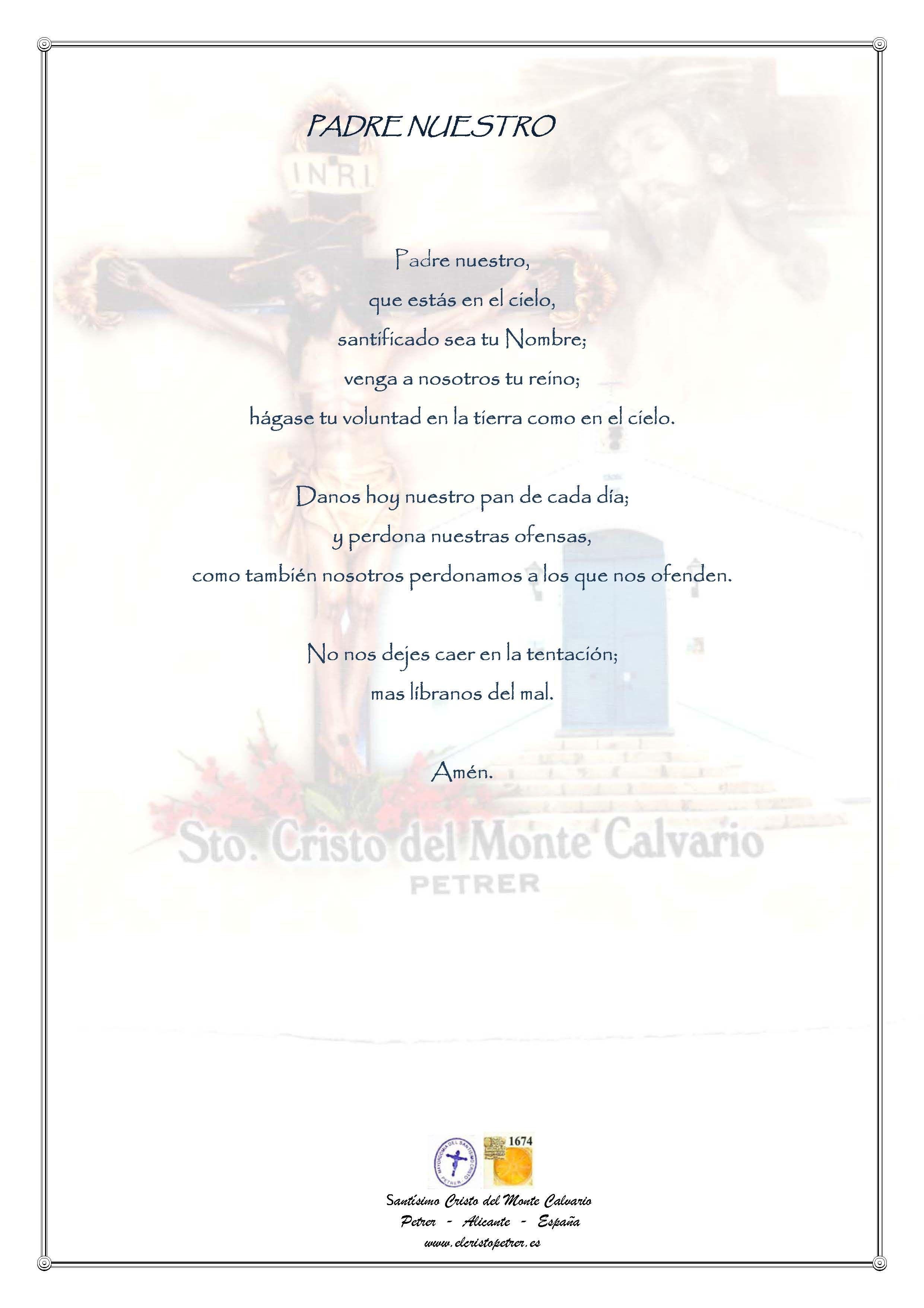ElCristo - Oraciones - Jesucristo - Biblia - Padre Nuestro