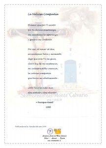 ElCristo - Poesias - Amat, Enrique - Revista 2009 - La Valiosa Compañia