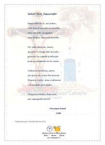 ElCristo - Poesias - Amat, Enrique - Revista 2010 - Señor Mío Jesucristo