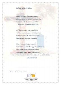 ElCristo - Poesias - Amat, Enrique - Revista 2011 - Subire a Tu Ermita