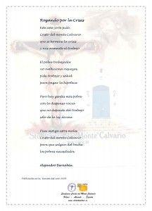 ElCristo - Poesias - Bernabeu, Alejandro - Revista 2009 - Rogando por la Crisis