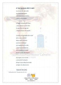 ElCristo - Poesias - Bernabeu, Alejandro - Revista 2010 - A los vecinos del Cristo