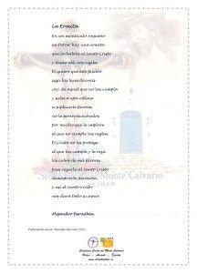 ElCristo - Poesias - Bernabeu, Alejandro - Revista 2011 - La Ermita