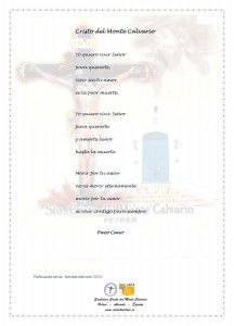 ElCristo - Poesias - Cano Cantero, Paco - Revista 2013 - Cristo del Monte Calvario