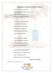 ElCristo - Poesias - Cano Cantero, Reme - Revista 2013 - Santisimo Cristo del Monte Calvario