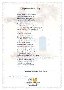 ElCristo - Poesias - Cano Cantero, Reme - Revista 2014 - Cargando con la Cruz