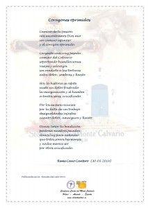 ElCristo - Poesias - Cano Cantero, Reme - Revista 2014 - Corazones oprimidos