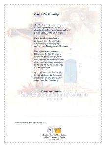 ElCristo - Poesias - Cano Cantero, Reme - Revista 2015 - Quedate Conmigo
