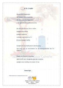 ElCristo - Poesias - Espi, Reme - Revista 2010 - A ti Cristo