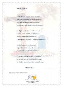 ElCristo - Poesias - Molla, Paco - Revista 2009 - Sin ti Señor