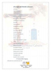 ElCristo - Poesias - Molla Torregrosa, Mari Carmen - Revista 2008 - Al Cristo del Monte Calvario