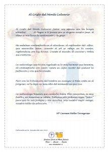 ElCristo - Poesias - Molla Torregrosa, Mari Carmen - Revista 2010 - Al Cristo del Monte Calvario
