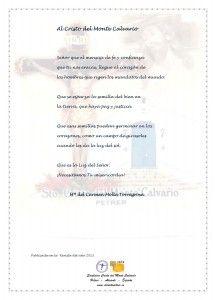 ElCristo - Poesias - Molla Torregrosa, Mari Carmen - Revista 2013 - Al Cristo del Monte Calvario