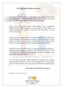 ElCristo - Poesias - Molla Torregrosa, Mari Carmen - Revista 2014 - Al Cristo del Monte Calvario
