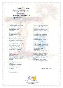 ElCristo - Poesias - Navarro, Maria - Revista xxxx - Cristo Vive, Reina y nos espera