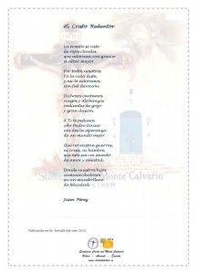 ElCristo - Poesias - Perez, Juan - Revista 2015 - Al Cristo Redentor