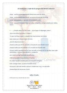ElCristo - Poesias - Poveda, Esther - Revista 2010 - Al Sto Cristo de la sangre del Monte Calvario