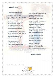 ElCristo - Poesias - Sanjuan, Conchi - Revista 2014 - Cuantas Veces