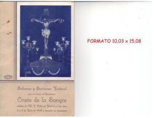 ElCristo - Revista - Portada Año 1949