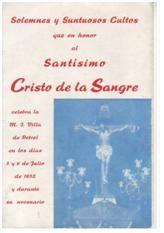 ElCristo - Revista - Portada Año 1952