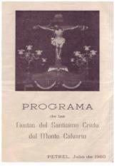 ElCristo - Revista - Portada Año 1960