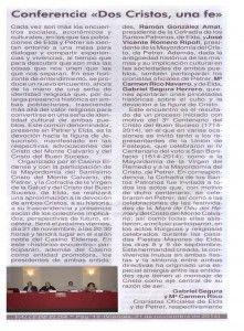 ElCristo - Actos - Dos Cristos Una FE - Conferencia - (2014-11-21) Valle de Elda