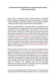ElCristo - Actos - Dos Cristos Una FE - Conferencia - Mayordomia_Página_1