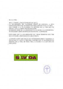 ElCristo - Actos - SI a la Vida - (2012-03-30) - abrir el acto