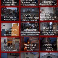 ElCristo – Historia – Documentos – (2011-04-15) – Cartel II Vía-Crucis  nocturno