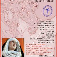 ElCristo – Historia – Documentos – (2014-04-11) – Cartel V Vía-Crucis nocturno