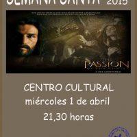 ElCristo – Historia – Documentos – (2015-04-01) – Cartel La Pasión