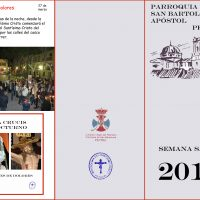ElCristo – Historia – Documentos – (2015) – Tríptico Semana Santa – A