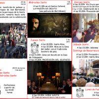 ElCristo – Historia – Documentos – (2015) – Tríptico Semana Santa – B