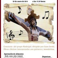 ElCristo – Historia – Documentos – (2016-01-29) – Actuación Musical Solidaria