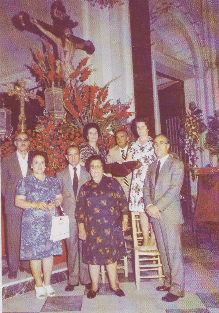 ElCristo - Historia - Mayordomia - 1958 (Archivo 300 aniversario)