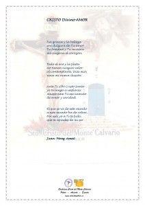 ElCristo - Poesias - Perez, Juan - Revista xxxx - Cristo Divino Amor