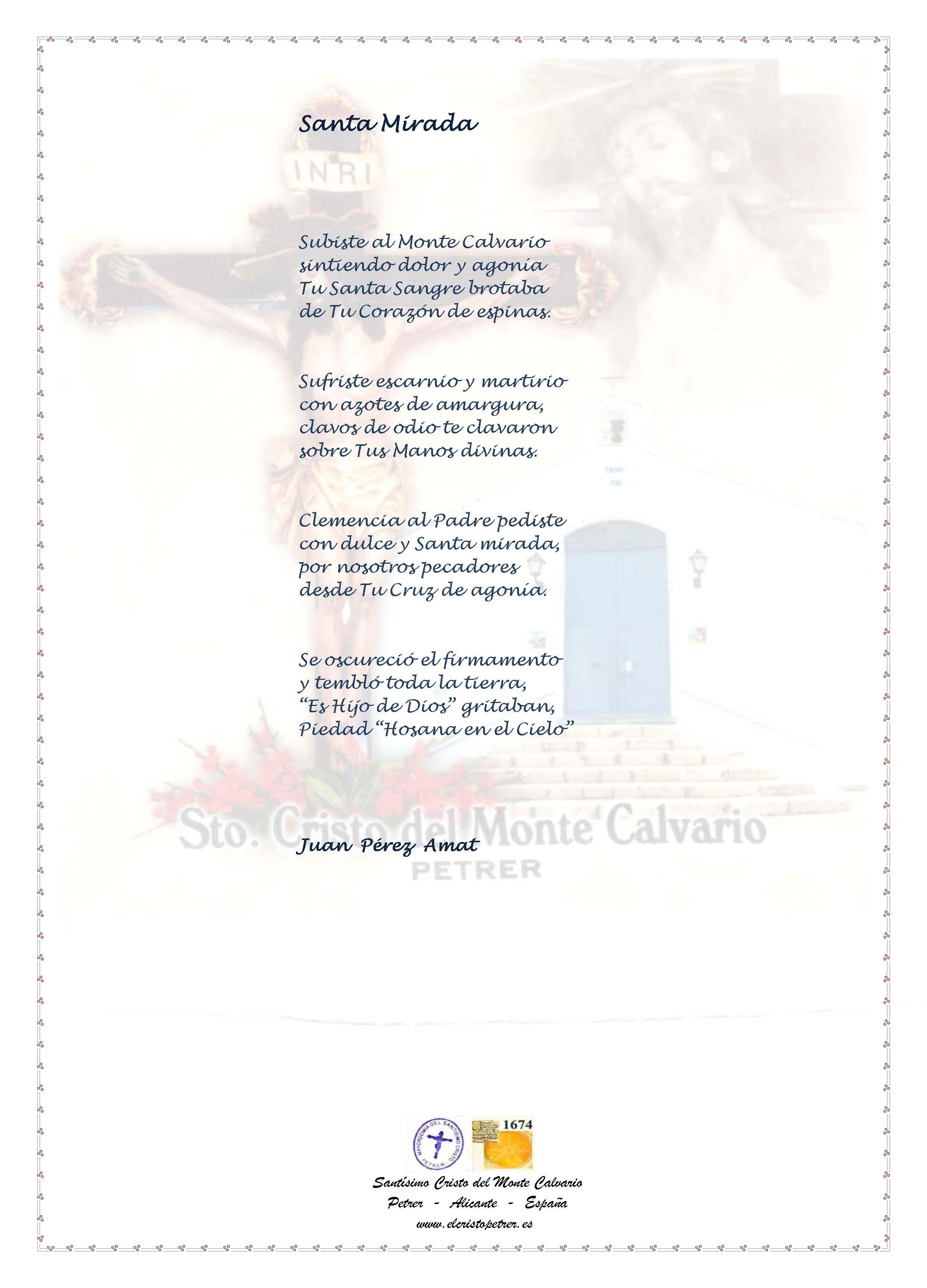 ElCristo - Poesias - Perez, Juan - Revista xxxx - Santa Mirada