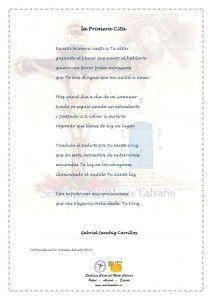 ElCristo - Poesias - Sanchiz Carrillos, Gabriel - Revista 2015 - La primera cita