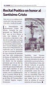 ElCristo - Recitales - 27 Noviembre 2015 - El Carrer