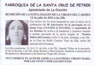 ElCristo - Misas y Actos - 2015-12-07 - Bendición Virgen del Carmen