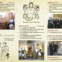 ElCristo – Misas y Actos – 2016 – Tríptico Semana Santa – 1