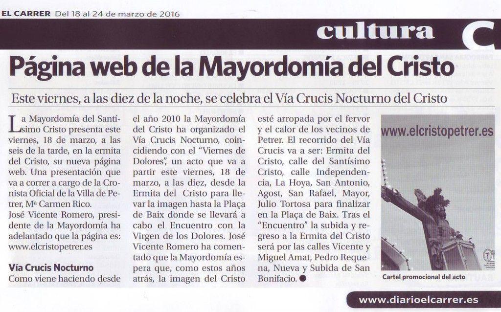 (2016-03-18) - Presentación Página Web - El Carrer