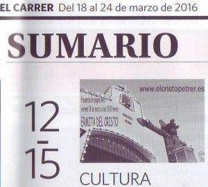 (2016-03-18) - Presentación Página Web - El Carrer, sumario