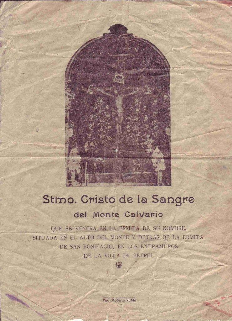 ElCristo - Gozos - Impresos 1930 - celebración del III Centenario Virgen del Remedio - 1