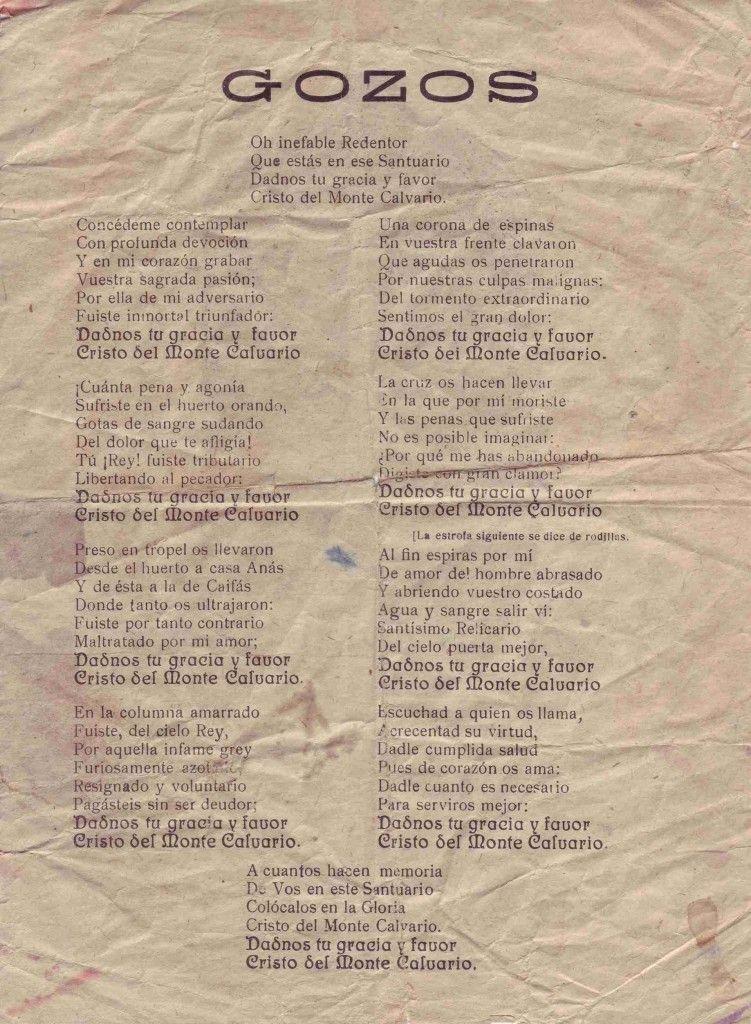 ElCristo - Gozos - Impresos 1930 - celebración del III Centenario Virgen del Remedio - 2