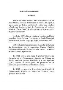 ElCristo - Marcha Procesional - Biografia Juan Jose Poveda Romero